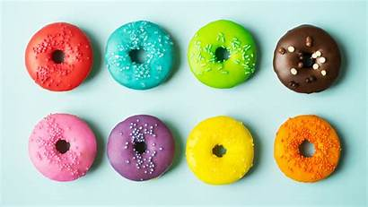 Donuts Colorful Chromebook Wallpapers Ready