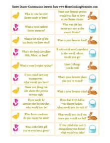 Dinner Party Conversation Cards