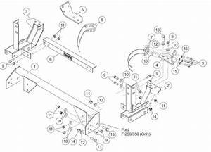 Western Snow Plow Truck Side Wiring Harness Kit  Western