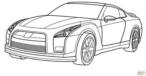 Gtr Kleurplaat by Nissan Gtr Kleurplaat Gratis Kleurplaten Printen Cars