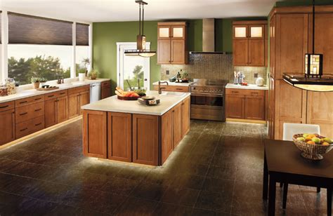 kitchen floor lighting cabinet lighting modern cleveland by kichler 1645