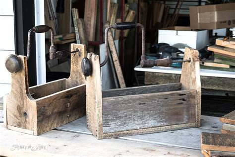 reclaimed barn wood projects a reclaimed wood drill handled toolbox of many