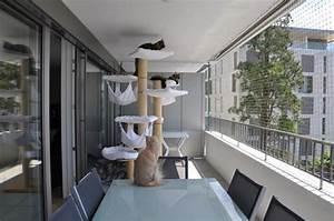 Store De Balcon Sans Fixation : s curiser un balcon pour mes chats sans percer les murs ~ Edinachiropracticcenter.com Idées de Décoration