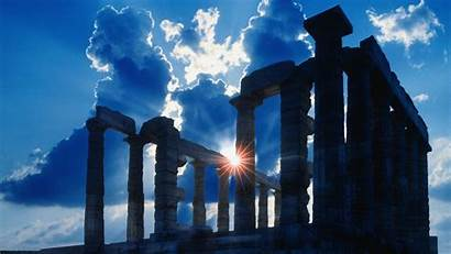 Ancient Athens Temple Greece Wallpapers Greek Desktop
