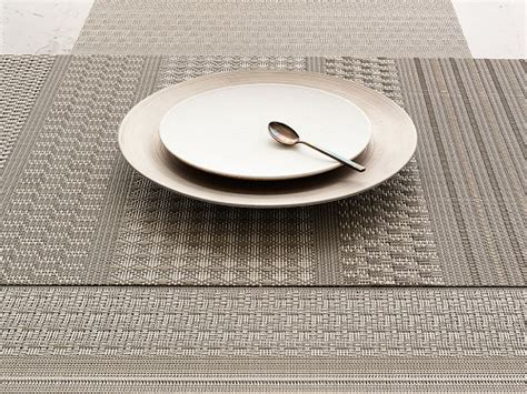 de la table luxe set de table mixed weave luxe chilewich