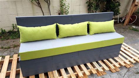 Pallet Settee by Pallet Outdoor Sofa Garden Bench 101 Pallets