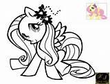 Fluttershy Coloring Pages Castle Canterlot Dress Sad Kj Pinkie Popular sketch template