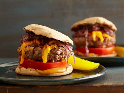 healthier burger food network healthy eats