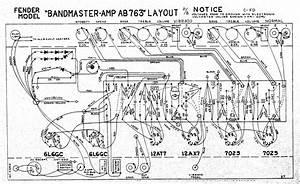 Fender Bandmaster Ab763 Circa 67 Or 68