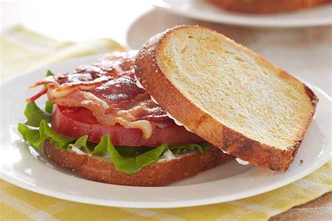 Egg-in-a-nest Blt Sandwiches Recipe
