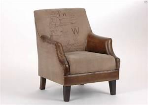 Fauteuil De Style : des fauteuils en cuir vintage pour un salon tout en style meuble amadeus ~ Teatrodelosmanantiales.com Idées de Décoration