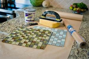 DIY Glass Tile Coaster