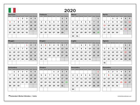 calendario italia michel zbinden
