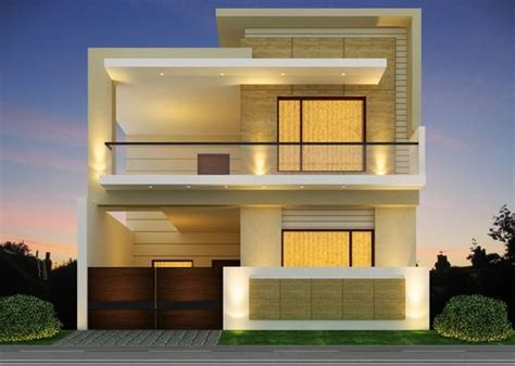 3bhk Double Story House Built In 1350 Sqft In Bank Colony