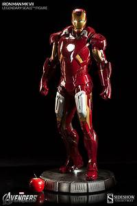 IRON MAN Mark VII Sideshow Collectibles Legendary Scale ...