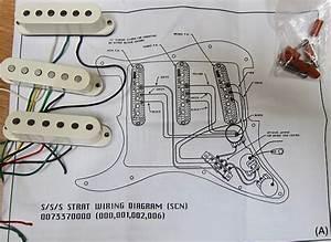 Fender Mod Shop Samarium Cobalt Noiseless Strat Pickups W