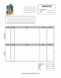 home repair invoice template With home repair invoice template