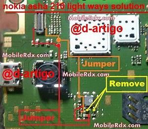 Nokia Asha 210 Display Light Ways Solution
