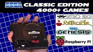 D I Y  Mini Sega Genesis Classic Edition 4000  Games For