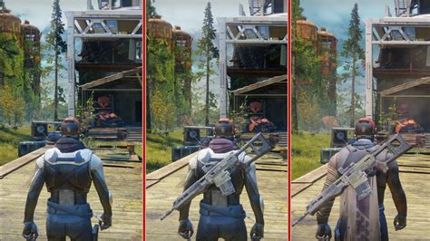 destiny  graphics comparison ps  ps pro  xbox