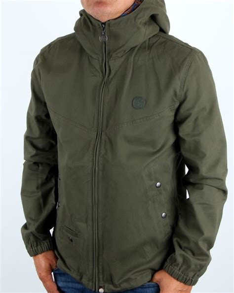 Pretty Green Beckford Jacket Khaki Menu0026#39;s Coat