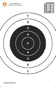 hsc computer printable targets