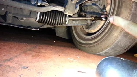 volvo    outer tie rod replacement youtube