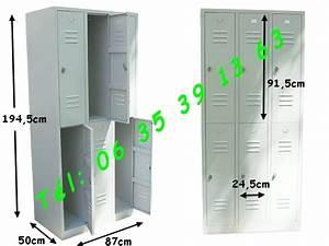 Casier De Vestiaire : casier vestiaire pas cher simple armoire uvestiaireu ~ Edinachiropracticcenter.com Idées de Décoration