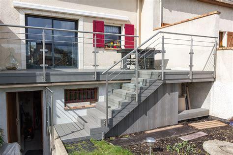 garde corps inox designbalustrade terrasse ext 233 rieure inoxdesign