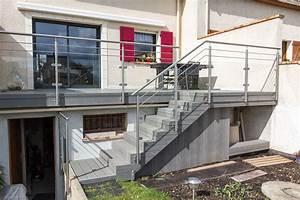 Balustrade Extérieure Pas Cher : garde corps inox designbalustrade terrasse ext rieure inoxdesign ~ Preciouscoupons.com Idées de Décoration