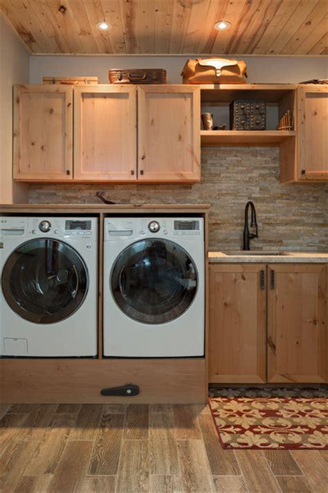 Boulder, Co Homes  Rustic  Laundry Room  Denver By