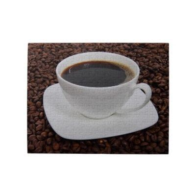 A cup of black coffee consists of very less calories and offers much more than just caffeine and comforting flavour. Coffee Cup Roast Delight Jigsaw Puzzle   Zazzle.com   No calorie foods, Vegan food list, Coffee ...