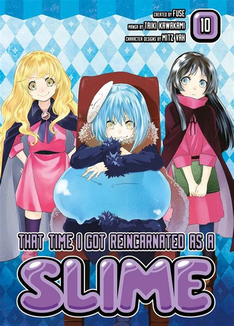 That Time I Got Reincarnated As A Slime Graphic Novels