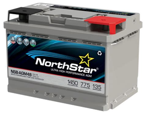 Replacement For Northstar Nsb Agm48 L3h6 Replacement