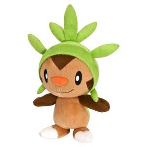 pokemon plush toys 8 inch chespin
