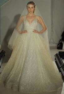 lazaro spring 2017 collection bridal fashion week photos With lazaro sparkly beaded wedding dress