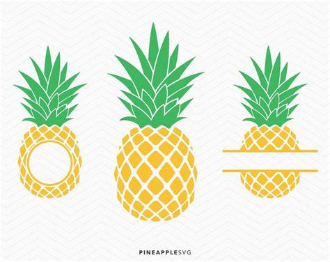 pineapple monogram svg pineapple svg