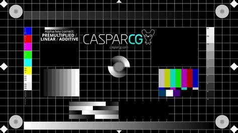 caspar cg television test pattern p youtube