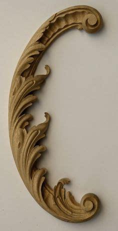 architectural decorative wood carving   Baroque decor ...