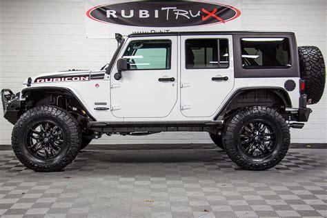 white jeep 2018 2018 jeep wrangler rubicon recon unlimited white