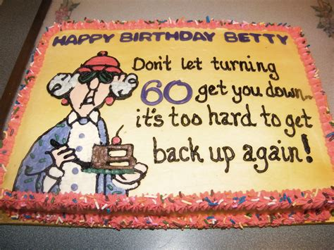 See more ideas about 60th birthday cakes, birthday cake pictures, 60th birthday. Maxine - My mom's 60th birthday cake | Funny birthday cakes, Birthday cake for mom, Birthday ...