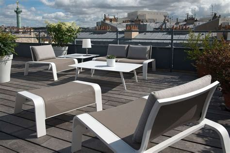 canap de jardin aluminium salon de jardin en aluminium royal sofa idée de canapé