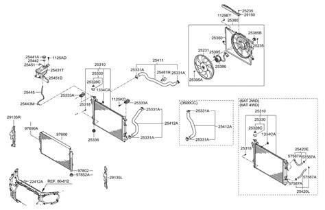 2010 Hyundai Santum Fe Engine Diagram by 29150 2b800 Genuine Hyundai Dam Air