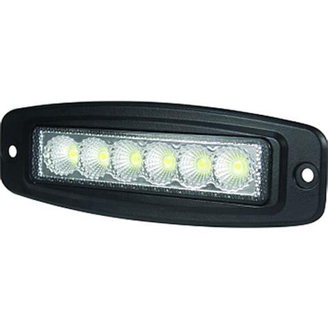 mini flush mount light hella valuefit mini light bar 6 led 6 quot flush mount