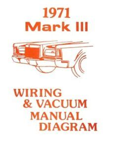 Lincoln Continental Mark Iii Wiring Vacuum Diagram
