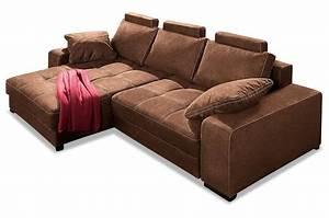 Boxspring Couch Mit Bettfunktion : nova via ecksofa diabolo braun mit boxspring sofa ~ Indierocktalk.com Haus und Dekorationen