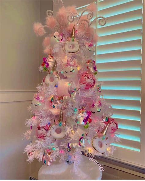 arbol de navidad de unicornio Pink christmas tree