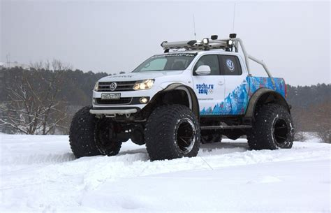 This Jacked Up Polar Expedition Edition Volkswagen Amarok