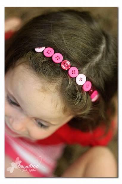 Headband Headbands Button Diy Buttons Crafts Craft