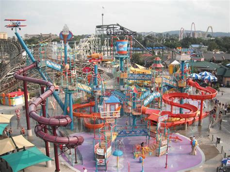 The Boardwalk And Water Park At Hersheypark